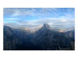 Half Dome And Yosemite Valley From Glacier Point Photographic Print by Doug Rosenberg