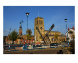Sun Dial In Stalybridge Cheshire Photographic Print by Jean Fitzhugh