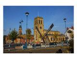 Sun Dial In Stalybridge Cheshire Photographic Print by Jean Fitzhugh