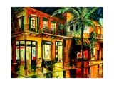 Frenchmans Street In New Orleans Giclee Print by Diane Millsap