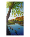 Riverbend In October Giclee Print by Alexis Lyman