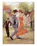 In Dance Giclee Print by Oleg Poberezhnyi