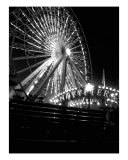 Navy Pier Ferris Wheel Photographic Print by Jason Wolf