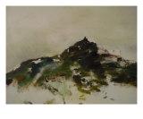Mountain 02 (Detail) Giclee Print by Virginie L'herbette