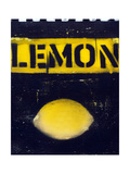 Lemon collage Posters by Ricki Mountain