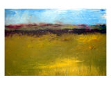 Abstract Landscape - The Highway Series Giclee Print by Michelle Calkins