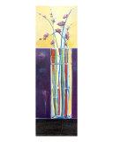 Fibonacci Vase, Cherry Blossoms Giclee Print by Kristin Morris