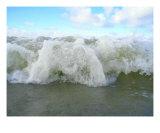 Splasing Water Sea Cost Photographic Print by Jettie -ann Dijkstra