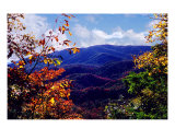 Smoky Mountain Autumn View Photographic Print by Nancy Suzanne Mueller