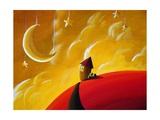 Goodnight Moon Giclee Print by Cindy Thornton
