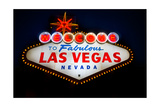 Fabulous Las Vegas Sign Photographic Print by Steve Gadomski