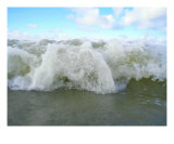 Splasing Water Seacoast Photographic Print by Jettie -ann Dijkstra