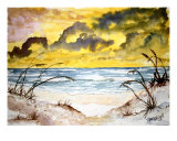Beach Sand Dunes Abstract Giclee Print by Derek Mccrea