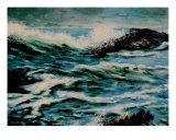 Seascape Giclee Print by Veronique Radelet