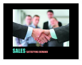 Business-Management: Sales Photographic Print by Andrew Schwartz