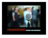 Business-Management: Presentations Photographic Print by Andrew Schwartz