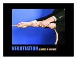 Business-Management: Negotiation Photographic Print by Andrew Schwartz