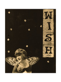 Vintage wish collage Poster by Ricki Mountain