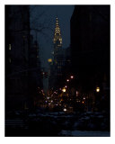 Chrysler Building Evening Photographic Print by DW labs