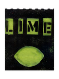 Lime collage Photographic Print by Ricki Mountain
