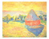 Color Study After Monet Giclee Print by Mikell Van Der Laan