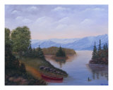 Peaceful Lake 1 Giclee Print by Cathy Dolan