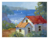 Pacific View Cottage By Joyce Hicks Giclee Print by Joyce Hicks