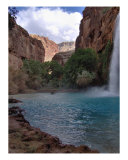 Grand Canyon Waterfall Photographic Print by LORA PARKS