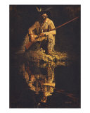 Frontier Reflections Giclee Print by Ernie Cselko