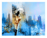 Rain For Runaways Photographic Print by Tony Pavone
