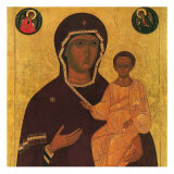 God's Mother Odiguittria Posters