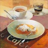 Cafe Grande I Posters av Willem Haenraets