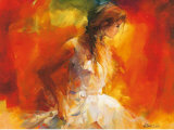 Young Girl I Affischer av Willem Haenraets