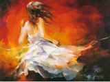 Young Girl II Poster av Willem Haenraets