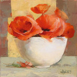 Lovely Poppies I Print by Willem Haenraets