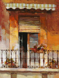 Balcony II Posters av Willem Haenraets