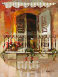Balcony I Art by Willem Haenraets