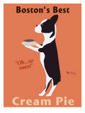 A Melhor Torta de Creme de Boston Impressão giclée premium por Ken Bailey