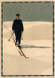 Skieur I Posters