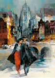 Romance I Poster by Willem Haenraets