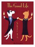 The Good Life Premium gicléedruk van Ken Bailey
