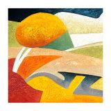 A Gust of Wind I Poster von Marko Viridis