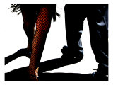 Red Tango Giclee Print by Michele Roohani