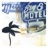 Big 8 Motel Prints by David Dauncey