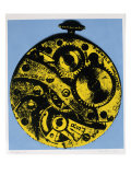 Nano Yellow Giclee Print by Diane Jacobs