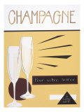 Champagne Prints by Sharyn Sowell