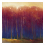 Deep Woods in Autumn Lámina giclée por Teri Jonas
