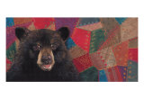 The Heirloom Bear Quilting Society Giclee Print by Penny Wagner