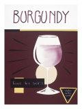 Burgundy Giclee Print by Sharyn Sowell