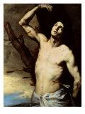 Saint Sebastian Giclée-tryk af Jusepe de Ribera